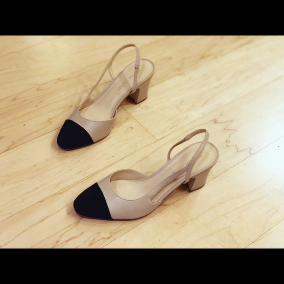 8eeb9efcf4 Ivanka Trump Shoes - Like new Ivanka trump Liah Slingback Latte color